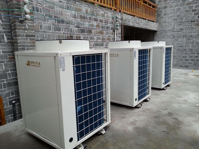 空气源热泵地暖中央空调