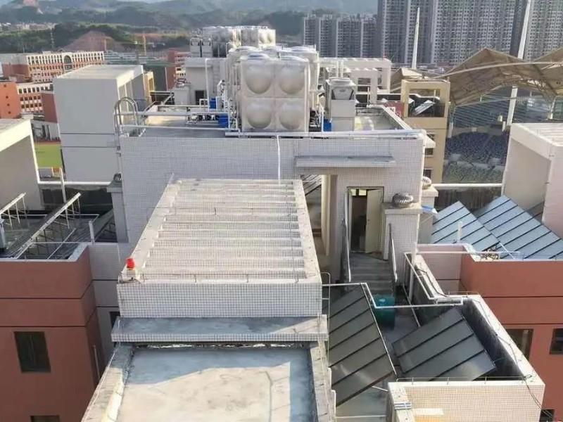 空气能热泵机组安装在哪里比较好?