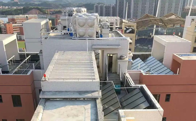 上海空气能热水器安装