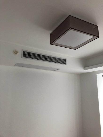 上海绿地世纪城二期家用中央空调安装工程