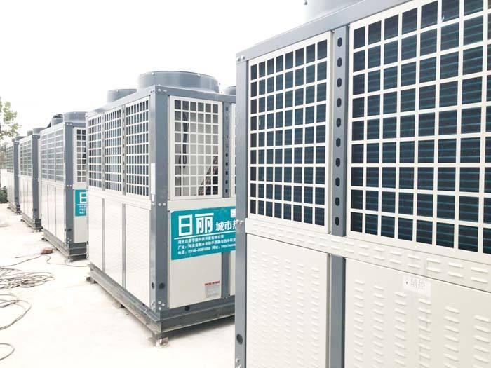 别墅空气能热水器