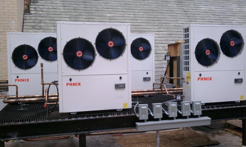 空气源热泵机组