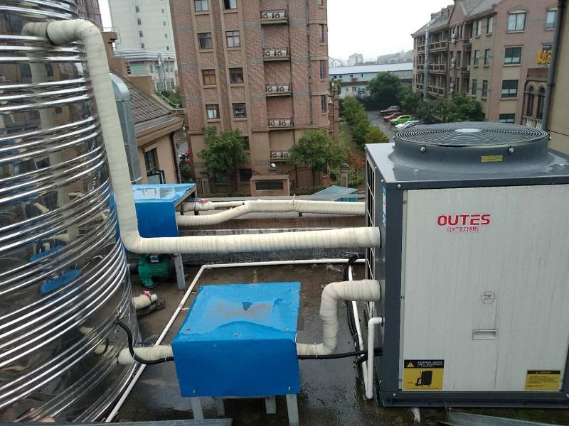 空气源热泵两联供如何一机实现冷暖?