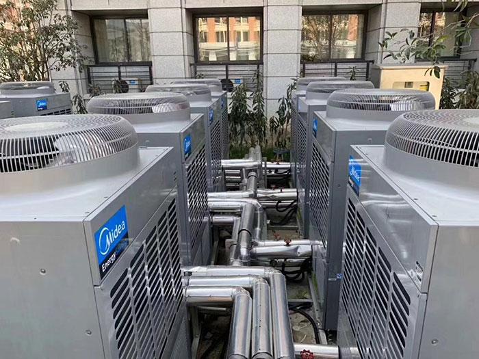 美的空气能热泵