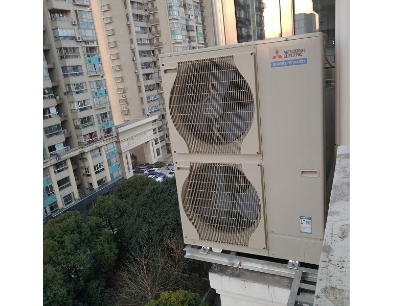 多联式空调室外机的布置方式及空间要求
