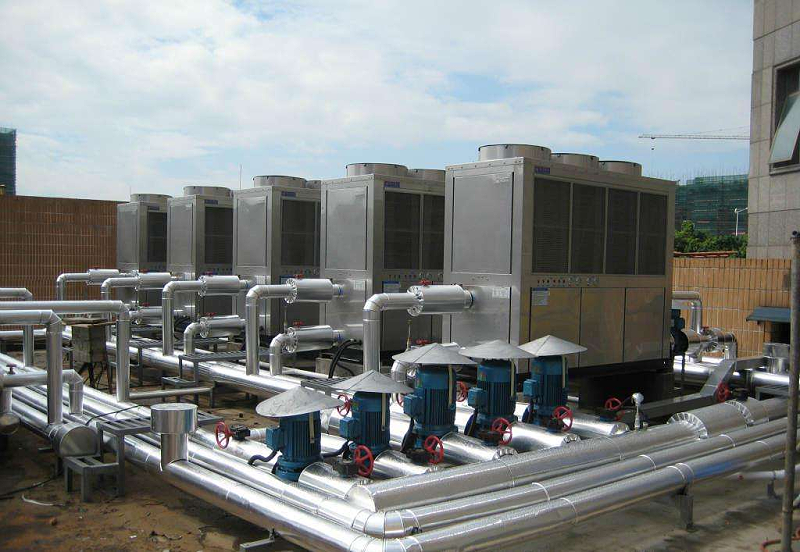 约克空气源热泵两联供