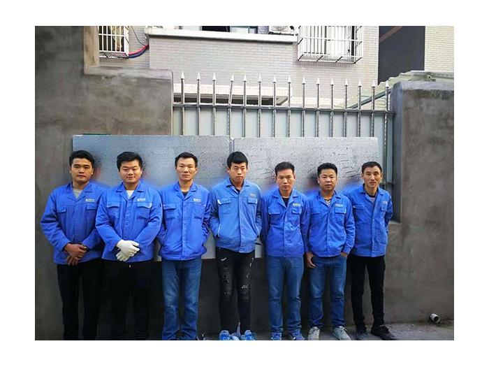 越邦机电-工程部团队合影