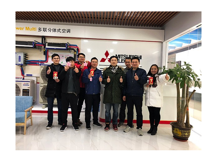 越邦机电-三菱电机空调培训团队
