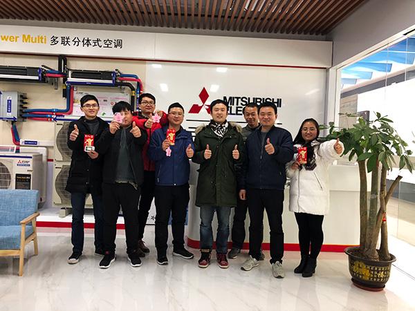 三菱电机空调培训团队