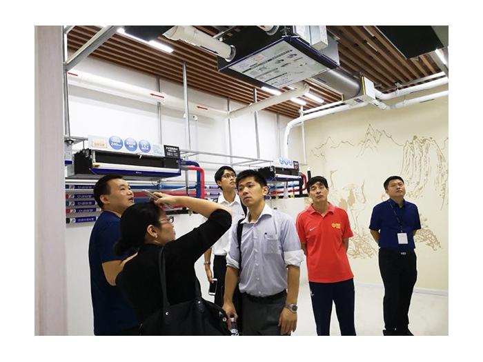 越邦机电-三菱领导展厅考察
