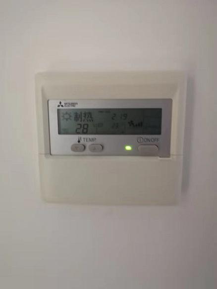 东方城市豪庭中央空调安装工程