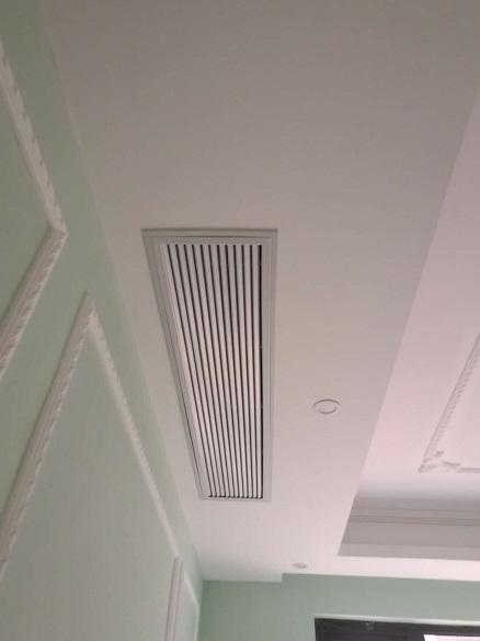 首创旭辉城家用中央空调安装工程