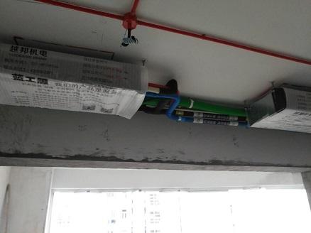 中央空调安装现场