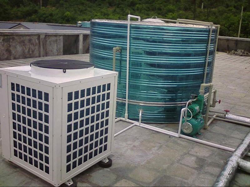 越邦-空气能热水器工作原理及实例