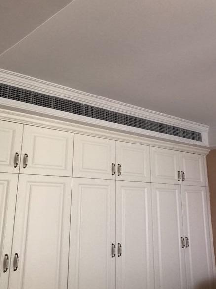 融信铂湾家用中央空调安装工程