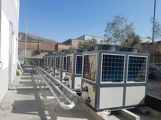 空气源热泵地暖空调两联供