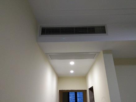 圣约翰名邸家用中央空调安装工程