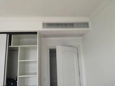 捷克小区家用中央空调安装工程