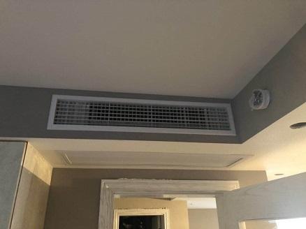 保利西郊锦庐三菱电机家用中央空调安装工程