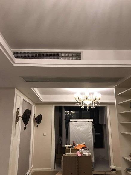 经纬学士逸居家用中央空调安装工程