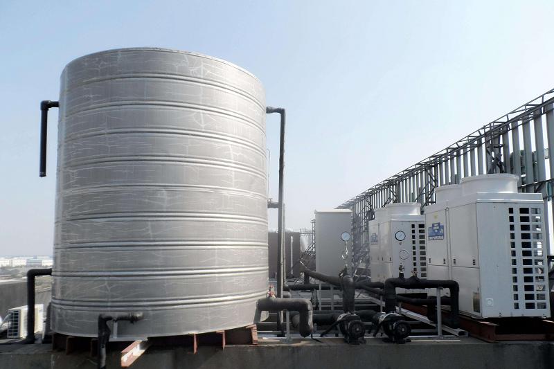 空气能热泵供暖系统