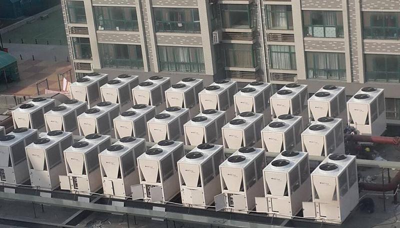 约克二合一中央空调+地暖