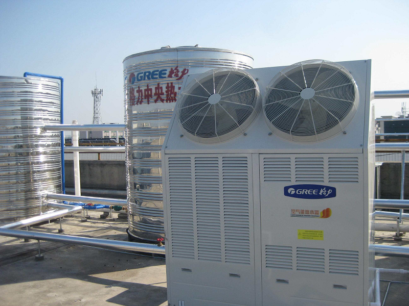 空气源热泵地暖