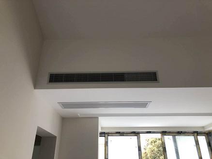 名人世家家用中央空调安装工程