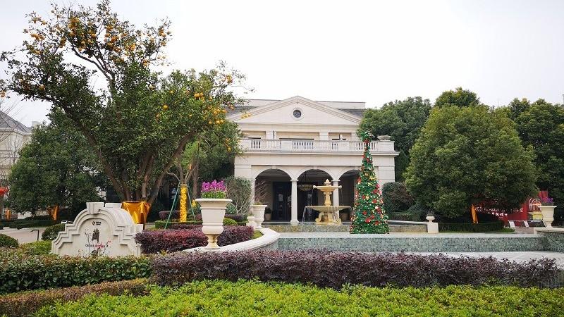 上海绿城兰园中央空调、地暖系统工程