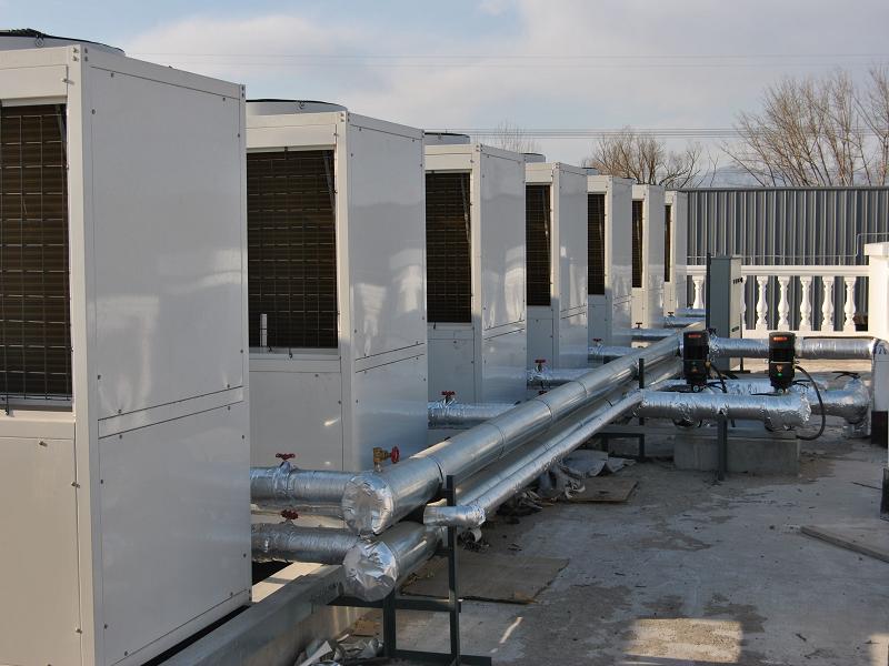 空气能热泵采暖机组
