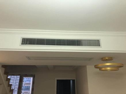 首创禧悦翠庭三菱电机中央空调安装工程