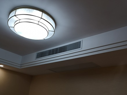 朱家角1号别墅家用中央空调工程