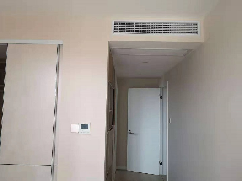 华苑大厦三菱电机家用中央空调安装工程