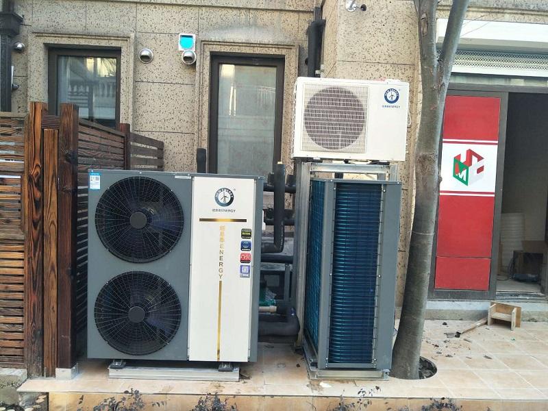 别墅都选择空气能热泵采暖,这样更省钱!